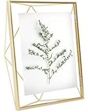 Umbra Prisma 4x4 Picture Frame – Geometric Wire Photo Frame for Desktop or Wall