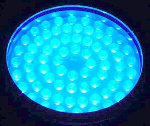 WDM Lighting LED Colorwater 72 Blue Submersible - -