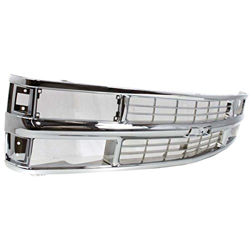 ck Fullsize Grill Grille Assembly Chrome GM1200238 15981106 ()