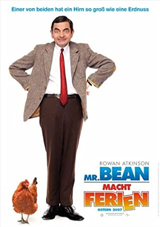 Amazon. Com: mr. Bean's holiday 11 x 17 movie poster: posters & prints.