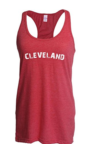 Xekia Cleveland Ohio State Home Fashion People Best Friend Gift Couples Gifts Women Racerback Tank Clothes Small Heather Red