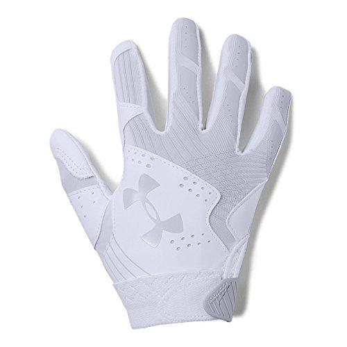 - Under Armour Girls' Youth Radar Softball Gloves, White/Aluminum, Youth Medium