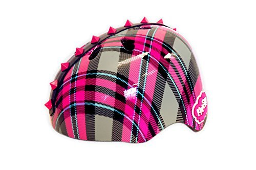 Krash Plaid Pyramid Studs Helmet by - Helmet Plaid