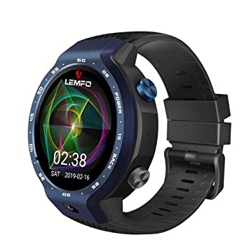 LEMFO LEM9, Dual Systems Smartwatch 4G LTE Phone Android 7.1 ...