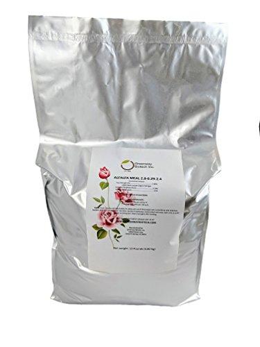 "Alfalfa Meal 2.80-0.29-2.40 Organic""Greenway Biotech Brand"""