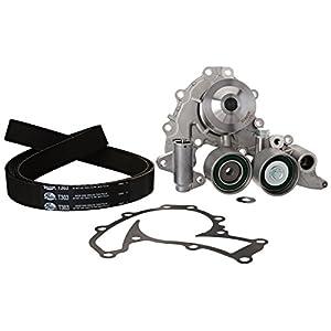 Gates TCKWP303 Engine Timing Belt Kit with Water Pump