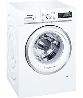 Siemens Wm16 W591 Autonome Belastung Vor Weiss Waschmaschine Waschmaschinen Bevor