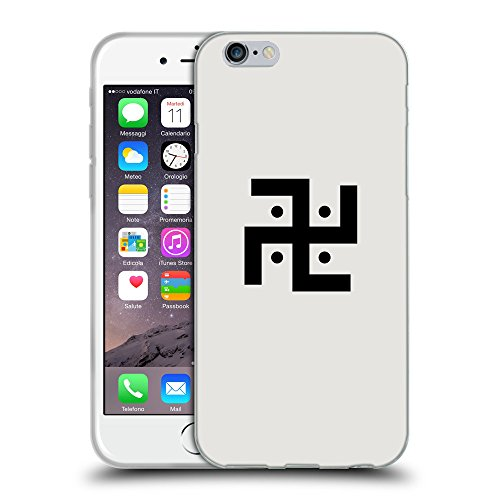 "GoGoMobile Coque de Protection TPU Silicone Case pour // Q08370631 Religion 1 Platine // Apple iPhone 6 4.7"""