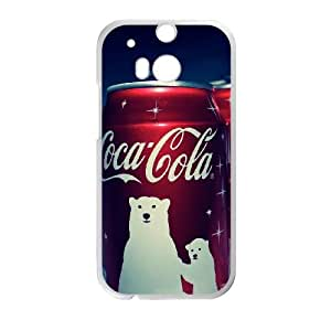 Coca Cola HTC One M8 Cell Phone Case White LMS3859666
