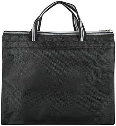 ジャカードハンドバッグブリーフケースファイルホルダービジネスファイル収納袋