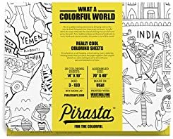 Pirasta Coloring Sheets Colorful World ounces product image