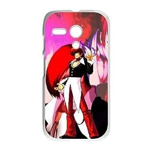 Motorola G White phone case King of Fighters Iori Yagami KOF7218958
