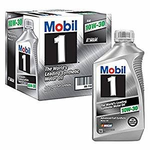Mobil 1 10W30 Synthetic Motor Oil, 1 Qt. - 6 pk. by Mobil