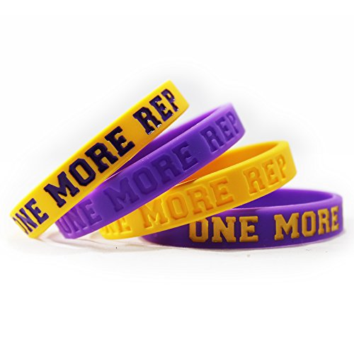 Inspirational Silicone Wristbands Rubber Band Bracelets, Custom Embossed with Saying