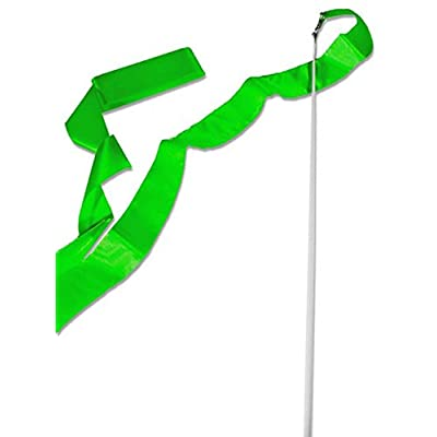 Cannon Sports Olympic Style 5m Gymnastics Ribbon Wand, Green : Sports & Outdoors