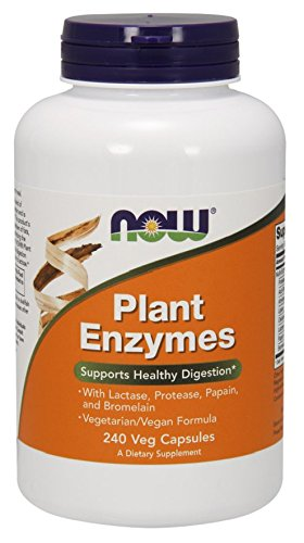 NOW Plant Enzymes 240 Capsules product image