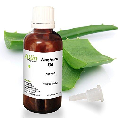 Allin Exporters Aloe vera Oil - 100% Natural, & Undiluted