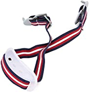 Camidy Hard Hat Chin Strap,Detachable Helmet Sling Strap Construction White Elastic Strap for Helmet Lower Jaw