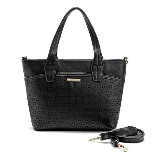 H bags Hollow Out ping Tote Shoulder Bags Women Messenger Bag Black 4 Max Length 30-50CM