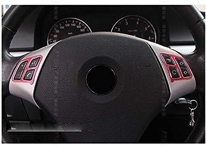 Areyourshop par de calcoman/ías para bot/ón de volante para 3 series E90 318 325 06-12