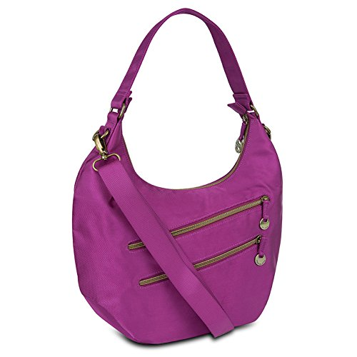 Travelon Convertible Hobo with RFID Protection - Magenta from Travelon