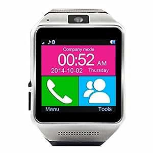 Veezy Gear Bluetooth Smart Watch WristWatch Phone Mate Black