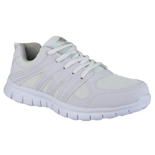 Mirak - Zapatillas deportivas Modelo Milos hombre caballero Blanco
