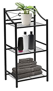 Amazon Com Sorbus Bathroom Storage Shelf 3 Tier