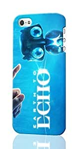 Earth to Echo 2014 Movie Pattern Image - Protective 3d Rough - Hard Plastic 3D Case - For Iphone 5C Phone Case Cover