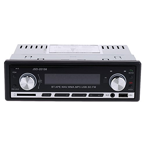 KKmoon Auto Stereo Radio Audio Player Receiver In-Dash-FM Aux Eingang WMA WAV MP3-Player mit SD/USB-Port