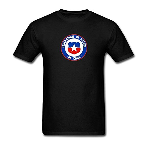 xiuluan-mens-chile-national-mens-football-team-logo-t-shirt-size-m-colorname-short-sleeve