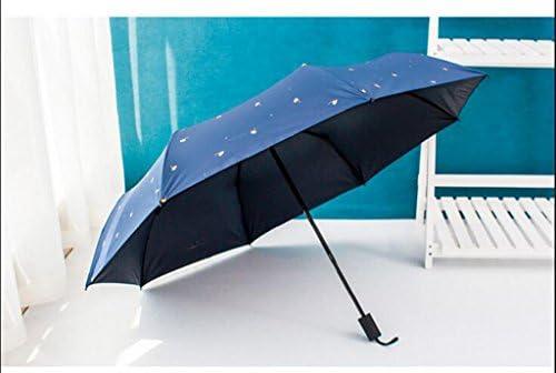 6c1d5b879d33 JSSFQK Umbrella Sunny Umbrella Fold Korea Sunscreen Anti-UV Female ...