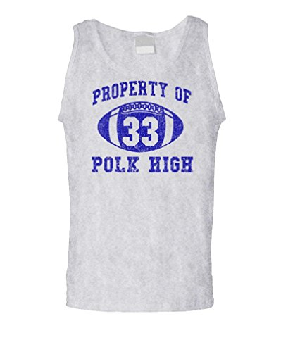 POLK HIGH - Funny BUNDY Football Champ 33 - Mens Tank Top, L, - Christmas Al Bundy