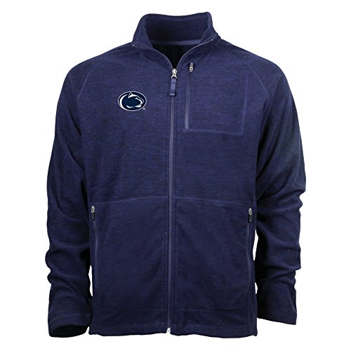 Ouray Sportswear NCAA Penn State Nittany Lions Adult Men Guide Jacket, Medium, Midnight Navy Heather ()
