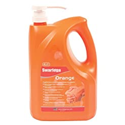 Deb Swarfega Orange Hand Cleaner with Pump, 4 L