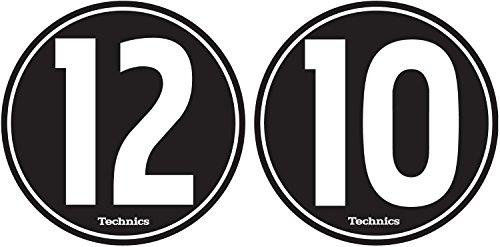 Magma MGA60604 Technics 1210 Slipmats Black (Technics 1210 Turntable compare prices)