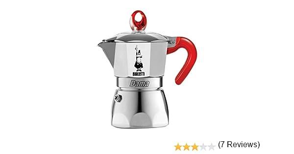 Bialetti Dama Vanity 3 Cups Red Cafetera de 3 tazas, color rojo ...