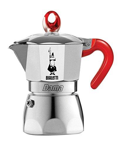 Bialetti Dama Vanity 3 Cups Red Cafetera de 3 tazas, color ...