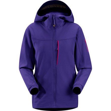 UPC 806955587821, Arc'teryx Gamma MX Hooded Softshell Jacket - Women's Azulene, M