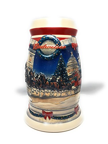 Budweiser Stein Holiday - 2001 Budweiser Holiday Stein
