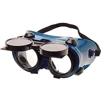ed1ae02bc23bf4 BGS 3517 Lunettes de protection pour soudeur, Noir bleu  Amazon.fr ...