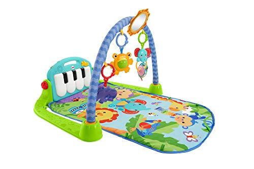 Fisher-Price Rainforest Piano-Gym - Manta de Juego parBebé (Mattel BMH49)