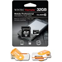 32GB MicroSDHC Class 10 High Speed Memory Card. Perfect Fit For HTC Flyer Freestyle. A free Hot Deals 4 Less High Speed all in one Card Reader is included. Comes with Lifetime Warranty.