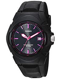 Casio Women's LX-610-1A2VCF Sporty Analog-Digital Display Quartz Black Watch