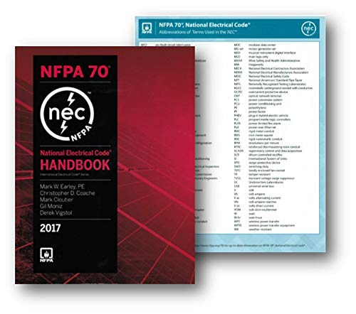 2018 Nec Handbook - NFPA 70 National Electrical Code, NEC, Handbook (Hardcover) 2017 Edition