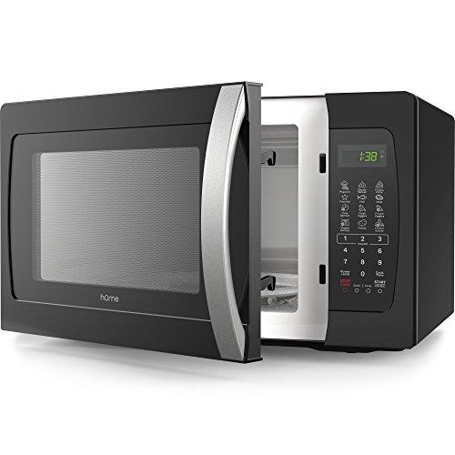 hOme Countertop Microwave Oven - 1.3 Cubic Feet 1050 Watt