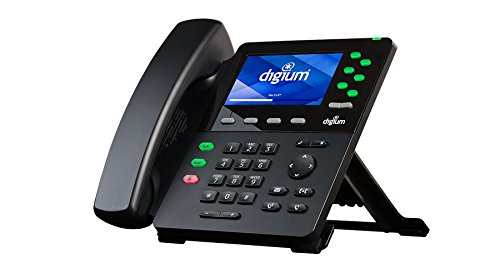 Digium D65 1TELD0065LF 6 Line Executive HD Phone Color LCD PoE Gig w Power -