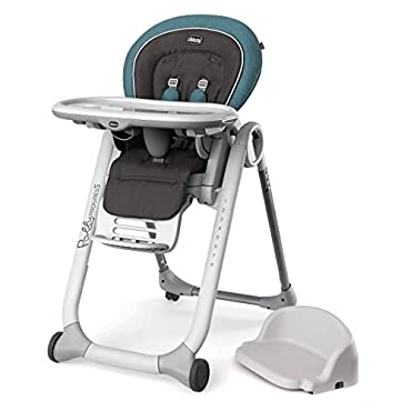 Chicco Polly Progress 5-in-1 Adjustable Highchair, Calypso (CHI-0507940858)