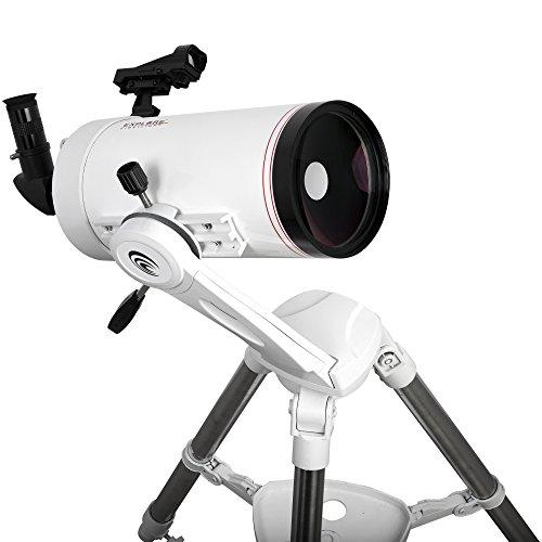Explore Scientific FL-MC1271900TN First light Tube sutov-Cassegrain Telescope with Twi Nano, 127mm, White by Explore Scientific