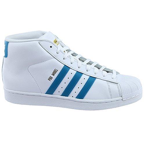 mystery Metallic Petrol Hombre Zapatillas Adidas Promodel Altas Para White gold w44Afaqn